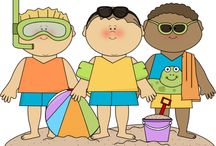 obrázky děti-léto