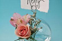 Summer Wedding Placecard Ideas / Ideas for Summer Wedding Placecards / by Simple Big Day