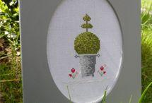 Buxus borduren