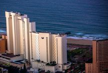 Southern Sun Elangeni & Maharani / The Southern Sun Elangeni & Maharani Hotel on Durban's North Beach has great views over the beach and over the Indian ocean. It is an ideal family hotel as it lies 200 meters from the water's edge.The ICC Durban Convention center is 1110 meters away from the hotel. The hotel has a long history of providing great service and hospitality to holidaymakers visiting Durban. The light, spacious lobby is the focal point where friendly, efficient staff provide a warm welcome.