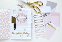 Planners y agendas: ideas / Inspiración y tutoriales para personalizar y diseñar tu propia agenda o planner.