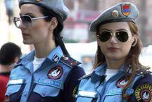 Women + uniform