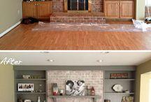 fireplace redos