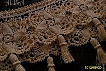 Bico para Toalha de Banho de Crochê / Nozzle for Crochet Bath Towel