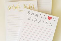 personal stationary