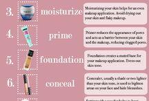 Beauty regime for flawless foundation
