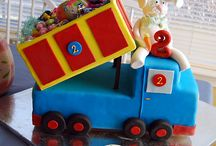 Cake inspiration boy 2nd birthday / Cake inspiration for my son 2nd birtday.