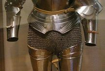European medieval mail armour / Examples of different mail armour mostly from the late middle ages to the 16th century. / by Donjuan Deaustria
