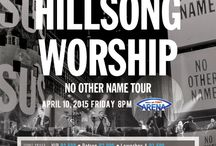Hillsong Worship LIVE in Manila / Hillsong Worship Live in Manila Known for their God glorifying praise and worship songs! Hillsong Worship Live in Manila on April 10, 8pm at Mall of Asia Arena. Hillsong Worship (formerly known as Hillsong Live) is a combination of worship leaders from multiple campuses of the Hillsong Church featuring Reuben Morgan, Joel Houston, Ben Fielding, David Ware, and Annie Garratt. For the last few decades, there songs have impacted many churches globally.