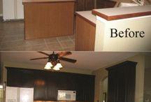 Kitchen redo... / by Erica Kling