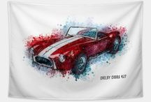 Legendary Cars / #car #classic #cars #shelby #ford #mustang #bugatti #carlover #legend #gt350 #believe #inspire #hope #fashion #lifestyle #gift #faith #happy #cute #happiness #success #trendy #hipster #cool #popular #sticker #famous #happy #naumovski #decor #mugs #modern #background #wallart #colorful #redbubble #teepublic #society6 #cobra #driving #turbo #sports #mercedes #mustang #ferrari #corvette #roadster