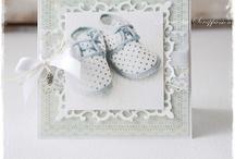 Scrapbooking - Dåp og nyfødt