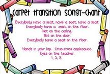 Kindergarten - songs/chants