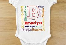 Personalized Baby Onesies & Creepers