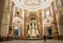 Arte Sacro / Os presentamos los diferentes trabajos realizados por Mármoles Mabello en referencia al Arte Sacro y la rehabilitación de iglesias u otros lugares de culto.