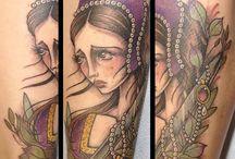 Anne Boleyn tattoo