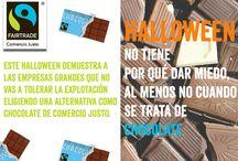 Halloween Justo / Halloween no tiene por qué dar miedo, al menos no cuando se trata de chocolate.