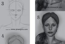 Нарисовать лица