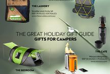 2016 Camping Compendium: Great Camping Gifts and Gadgets / Fancy a spot of camping over the holiday season? With 2017 rapidly approaching, there's no better time to review your gear and drop a few cheeky gift hints for friends and family! To help you out we've collected some of our favourite camping products that are perfect for both families and individuals, and that cater to all budgets and camping ideals. Bring a little comfort and class to your tent this season with these portable and innovative gadgets, specially designed for the great outdoors.