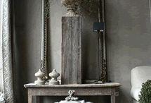 Decoration style greys