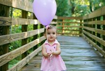 one-year-old photo shoots
