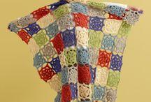 crochet couvertures, plaids... / by evelyne lambot