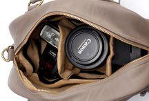 dSLR camera bags / by amytobiko