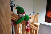 Elf on the shelf at Farmer Palmers / In Christmas 2015 a naught Elf came off the shelf and misbehaved around Farmer Palmer's Farm Park | Poole | Dorset UK - Here we share his story!