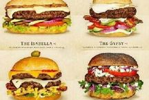 foodideas / burgers and other fastfood
