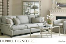 Sherrill Furniture / Sherrill Furniture: a sixty-plus-year HISTORY with our eye to the FUTURE. Since 1944, Sherrill Furniture Company and its divisions have supplied custom home furnishings to Major Furniture Stores and Major Department Stores throughout the United States and Canada. All of their factories are located in the Hickory, North Carolina area.