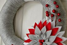 vánoční výzdoba - tvoření