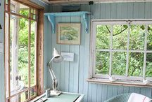 Garden summer room/log cabin