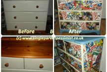 up-cycling ideas!