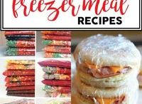 Freezer Recipes / freezer make-ahead, healthy freezer recipes, crockpot, dump dinner, meal kits, easy recipes! This board is full of good stuff to help you save money, store food, and get a leg up on busy nights.