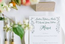 Wedding Theme - English Garden (Country Urban) / Ideas for English country wedding: Flowers, Decor, Colours, etc.