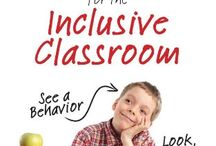 Inclusion / Education inclusion classroom disabilities students / by Natalie Larsen