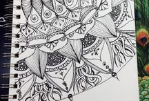 Black And White Drawings