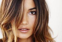 Hair / Ombre hairstyles for brunettes