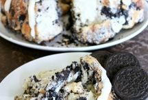 Dessert-Cakes, brownies and cookies...OH MY! / All things sweet to eat!