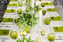 Wedding in green