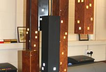 Industrial City Scape Lighting / Industrial City Scape Lighting. With rust and matt black finishes.
