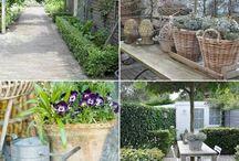 landelijke tuinen ideeën