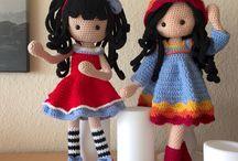 Muñequitas en crochet