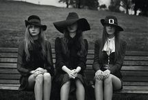 Witchcraft / Coven inspired pictures and styles.
