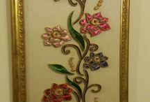 Filografi çiçekleri
