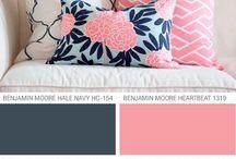 Salon kleur idees