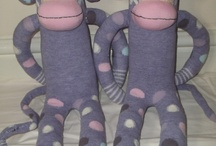My Hand Made Sock Animals