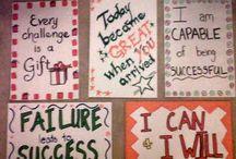 Positive message / by rebecca scono