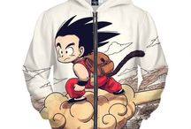 Dragon Ball Z Awesome Hoodies Collection