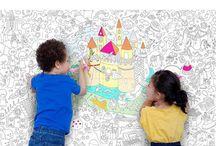 colouring walls